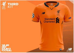 New Liverpool Football Kit - Third Kit 17-18