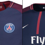 Paris PSG Match vs Stadium Shirt Comparison