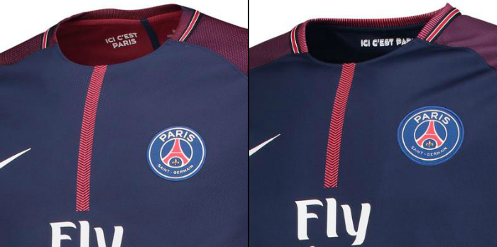 half off 1706e d1d09 Match vs Stadium Shirts Difference - Champions League Shirts
