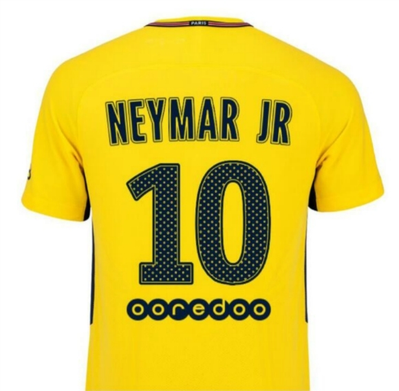 Neymar New Look - PSG Away Shirt