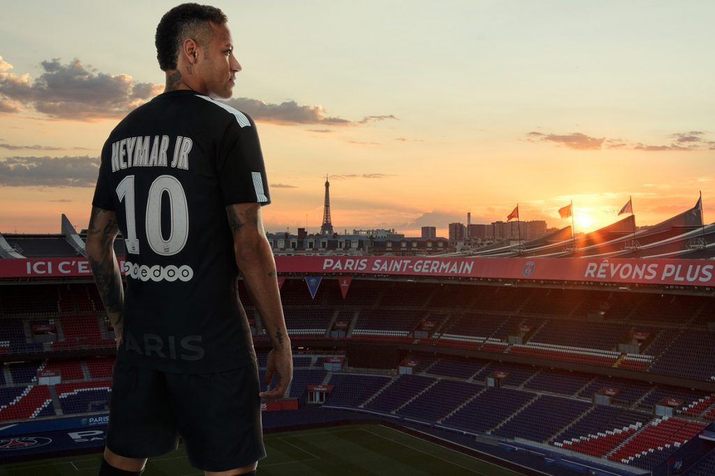 Neymar New Look - PSG Third Shirt