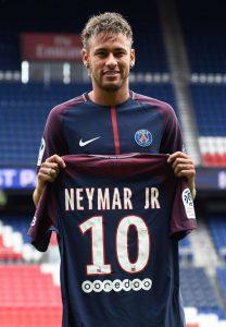 Neymar's PSG Number - 10