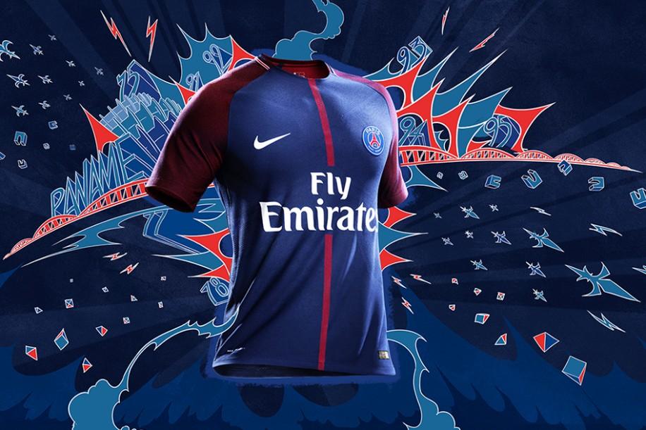outlet store 6ebe3 fda41 Paris Football Fan - 17-18 Paris Saint-Germain Kit Review ...