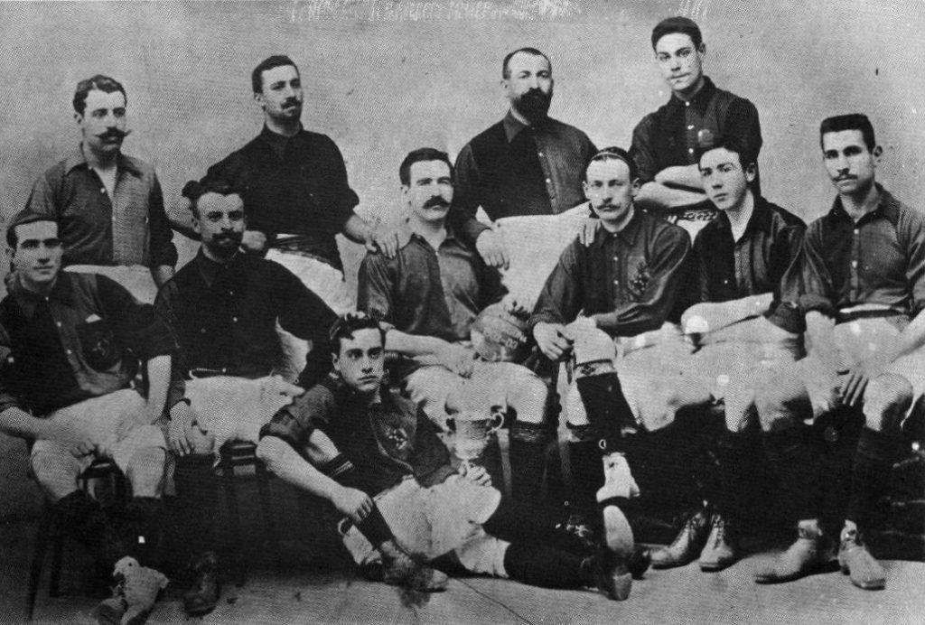 FC Barcelona in 1903