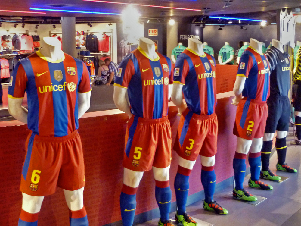 Fc Barcelona Kit History 16 Champions League Shirts