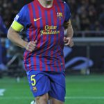 2011 Blaugrana kit on Carles Puyol