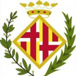 The first crest of FC Barcelona