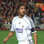 Raul Gonzalez in 2007 Real Madrid uniform