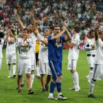 Real Madrid Supercup victory over Valencia in 2008