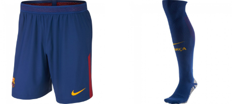 Barcelona First Kit Shorts and Socks