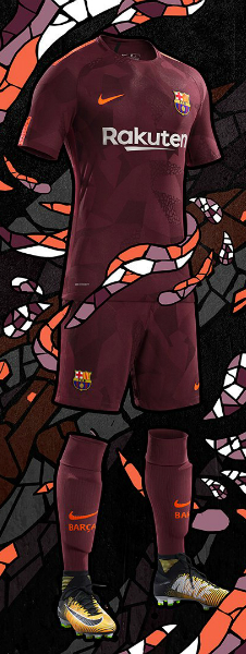 The Barcelona Third Kit 2017-18