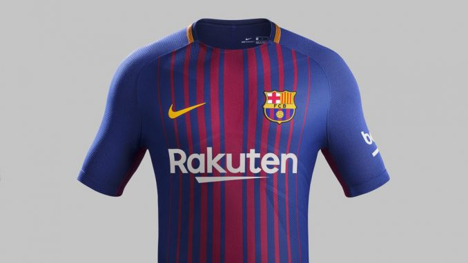 new product d9891 696db The Kit of FC Barcelona for 2018 - Champions League Shirts