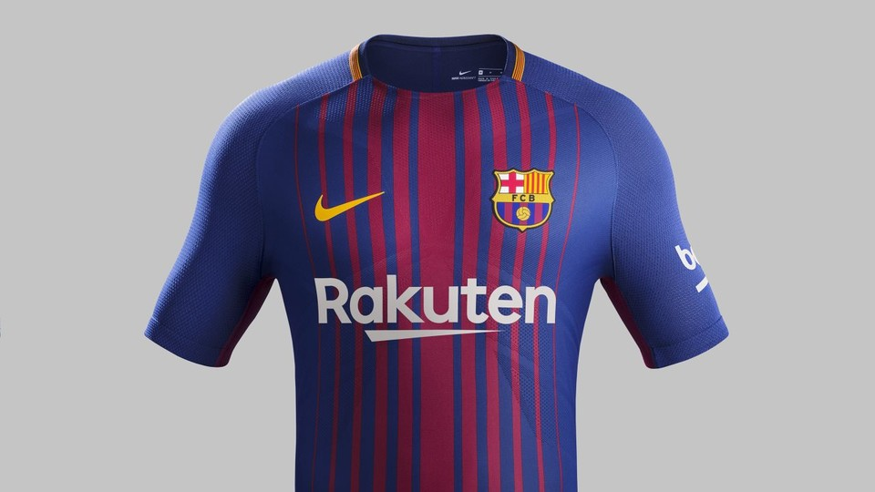 97d8a8f7e FC Barcelona Kit History - Champions League Shirts