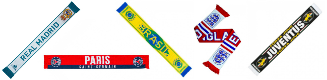 Gifts for a Soccer Fan - Scarf
