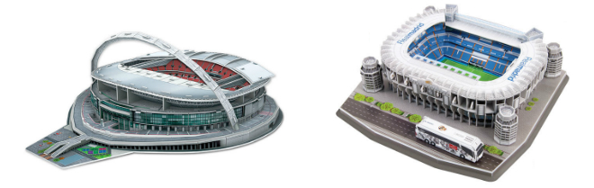 Gifts for a Soccer Fan - 3D Stadium Puzzle