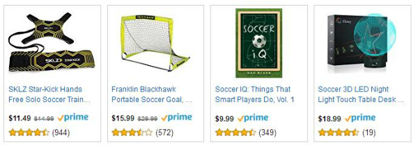 Gifts for Soccer Fans - Amazon