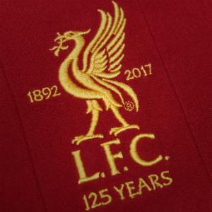Liverpool 125 Year Anniversary Crest