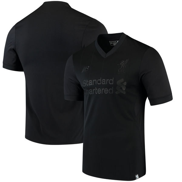 Liverpool Pitch Black Elite Shirt