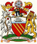 City of Manchester Council Coat of Arms