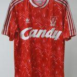 Liverpool Kit History - 1989-1991
