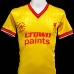 Liverpool Kit History - Away 1986-1987