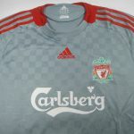 Liverpool Kit History - Away 2008-2009