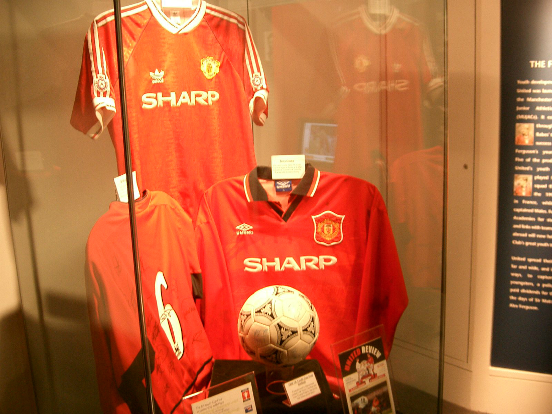 279acc97b Manchester United Kit History - Champions League Shirts