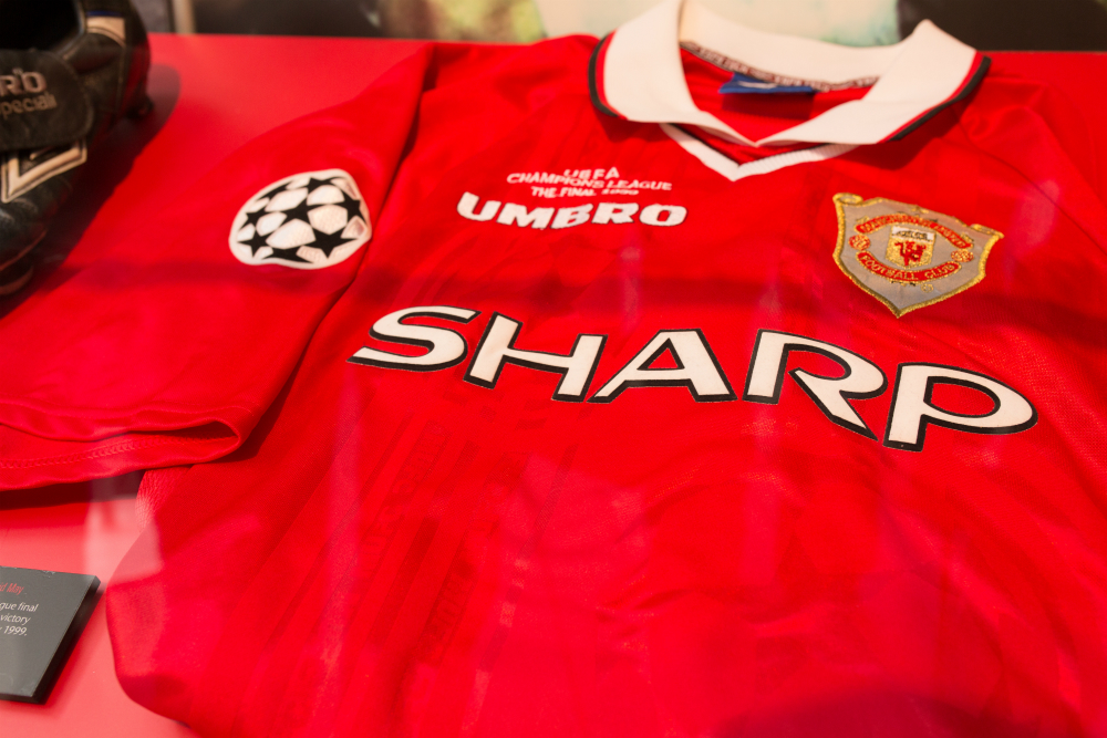 huge discount e4590 0ed8d Manchester United Kit History - Champions League Shirts